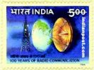 100 YEARS OF RADIO COMMUNICATION 1628 Indian Post